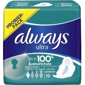 Always  Binden ultra normal 100% protection