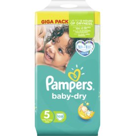 Pampers Baby-Dry Junior Giga Pack