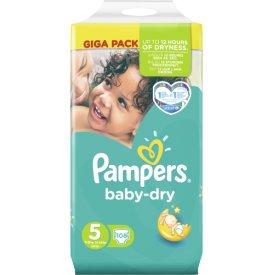 Pampers Baby-Dry Junior Giga Pack