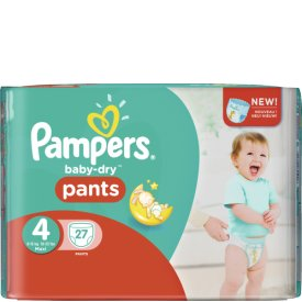 Pampers Windeln Baby Dry Pants Maxi Gr. 4
