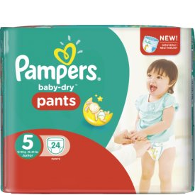 Pampers Baby Dry Pants Größe 5  Junior