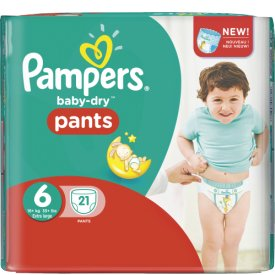 Pampers Baby Dry Pants Größe 6 Extra Large