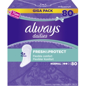 Always Alldays Fresh & Protect Normal GigaPack