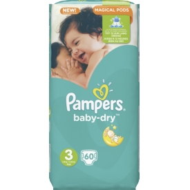 Pampers Baby-Dry Windeln 3 Midi  5-9kg