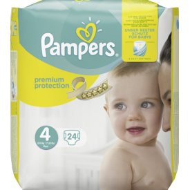 Pampers Babywindeln Premium Protection Größe 4 (8-16 kg) Maxi