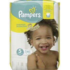 Pampers Babywindeln Premium Protection Größe 5 (11-23 kg) Junior