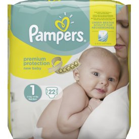 Pampers Premium Protection New Baby 1 für 2-5 kg