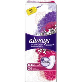 Always discreet Slipeinlage Plus