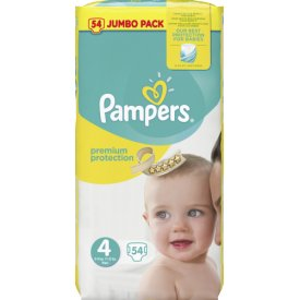 Pampers Premium protection Größe 4 Maxi 8-16 kg Jumbo Pack