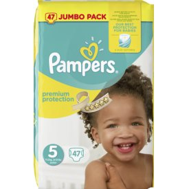 Pampers Premium protection Größe 5 Junior 11-23 kg Jumbo Pack