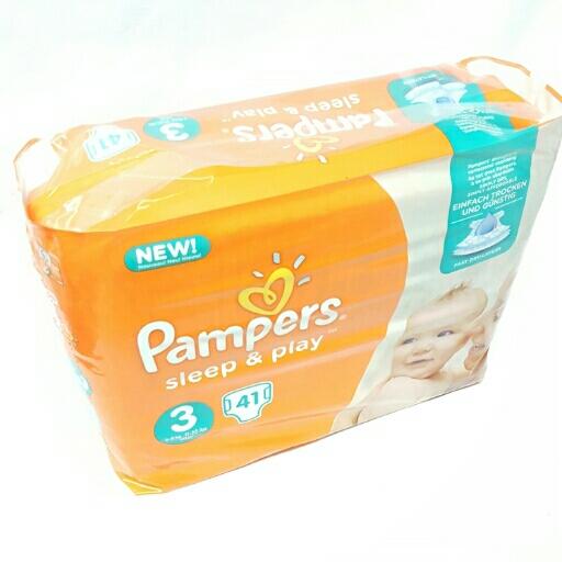 Pampers Sleep und Play Einfach trocken Gr. 3  5-9 kg