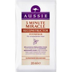 Aussie Haarkur Intensivkur 3 Minute Miracle Reconstructor Sachet
