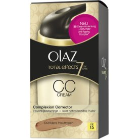 Olaz Total Effects CC Creme Dunklere Hauttypen