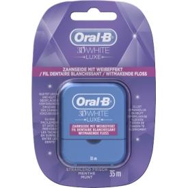 Oral-B 3D White Luxe Zahnseide mit Weißeffekt