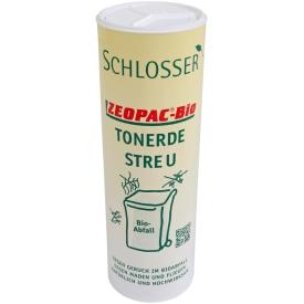 Schlosser Zeopac-Bio Tonerde-Streu Geruchsvernichter