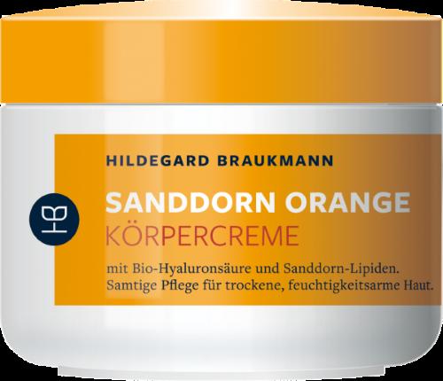 Hildegard Braukmann Sanddorn Orange Körper Creme