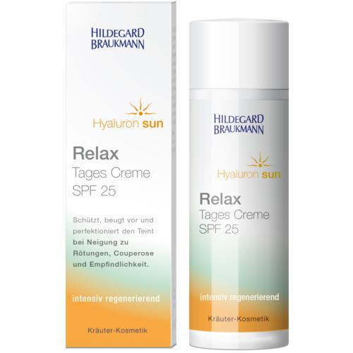 Hildegard Braukmann&nbsp Hyaluron Sun Relax Tages Creme SPF 25