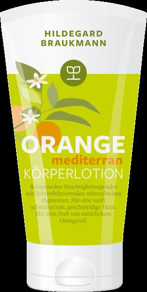 Hildegard Braukmann Orange Mediterran Körperlotion
