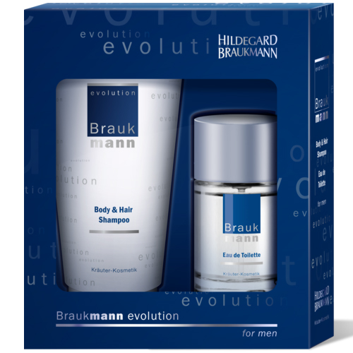 Hildegard Braukmann&nbspEvolution  Geschenkset Body and Hair Shampoo EdT