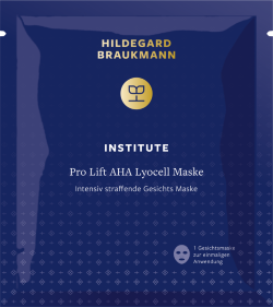 Hildegard Braukmann PRO LIFT AHA LYOCELL MASKE