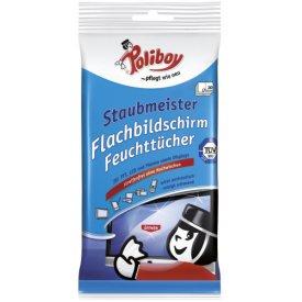 Poliboy Flachbildschirm Feuchttücher Staubmeister