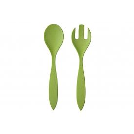 Magu Salatbesteck Natur Design Bambusfaser 30cm grün