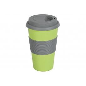 Magu Becher Coffee to go Natur Design 350 ml grün