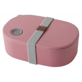 Magu Lunchbox Natur Design oval rot