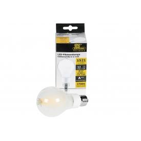 Ts-electronic LED Faden Glühlampe E27 1521lm 12 Watt warmweiss