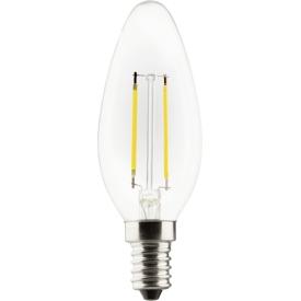 Müller Licht LED Faden Kerzenlampe E14 250lm 2,5 Watt warmweiß