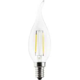 Müller Licht Retro-LED Windstoß-Kerze E14 250lm 2,2Watt warmweiß
