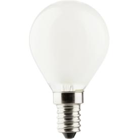 Müller Licht LED Faden Tropfenlampe retrodesign E14 250lm matt 2,5 Watt