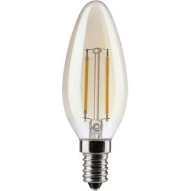 Müller Licht LED Kerzenformlampe E14 150lm 2,2 Watt gold