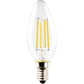 Müller Licht LED Kerzenformlampe E14 470lm 4 Watt klar warmweiß