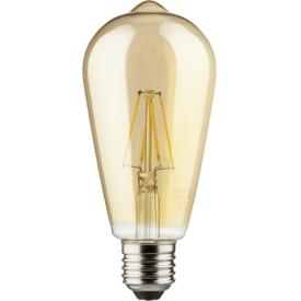 Müller Licht LED Lampe retro E27 690lm 6,5 Watt gold