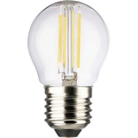 Müller Licht LED Tropfenformlampe E27 470lm 4 Watt warmweiß