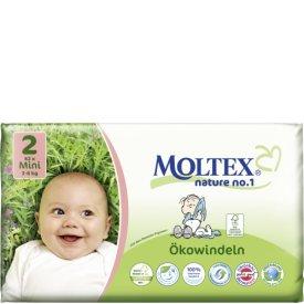 Moltex Nature No. 1 Ökowindeln Größe 2 Mini 3-6 kg