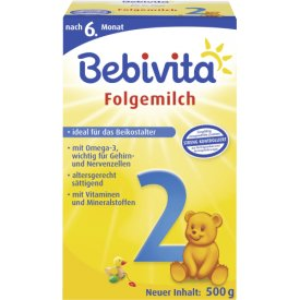 Bebivita Folgemilch 2 ab 6. Monat