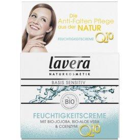 Lavera Tagespflege Feuchtigkeitscreme Basis Sensitiv mit Bio-Aloe Vera & Coenzym Q10
