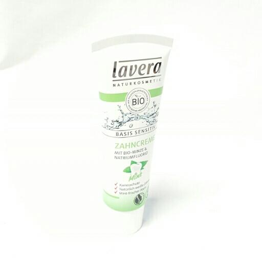 Lavera Zahncreme Basis Sensitiv Mint