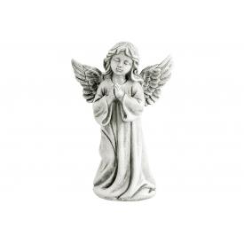 Poly-Engel stehend 12x7x18cm