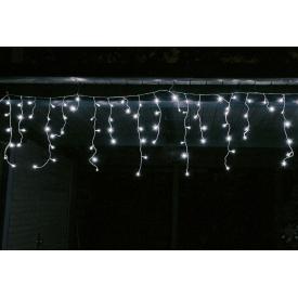 F-h-s LED Eisregen Lichterkette mit 240LED außen weiß
