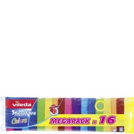 Vileda Allzwecktuch Microfaser Colors Megapack 16er