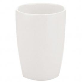 Kela Becher Natura Keramik/Bambus 11cm Ø8cm weiß