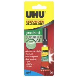 UHU Sekundenkleber Geruchsfrei Superflex Gel