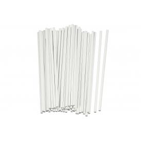 Rbv Birkmann Stiel Lolli-Sticks 15cm weiß 48er Pack