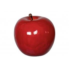 Deko-Apfel glänzend Ø6,5cm rot