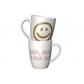 La Vida Kaffeebecher Serie Schön, dass es Dich gibt 250 ml
