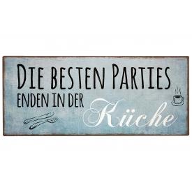 La Vida Schild Küchenpartie x30,5x13cm