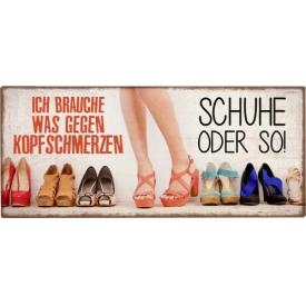 La Vida Schild Schuhe x30,5x13cm